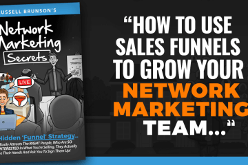 network marketing secrets book image