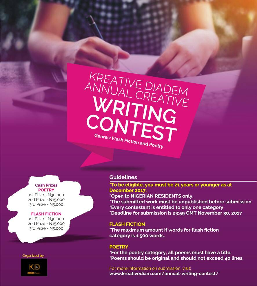 Kreative Diadem Annual Creative Writing Contest
