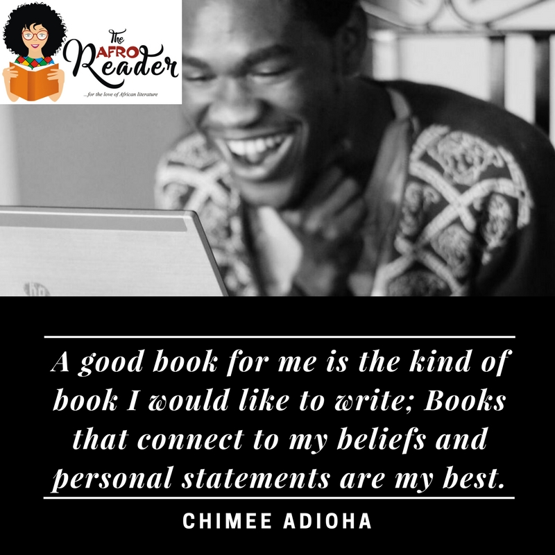 Conversations With Chimee Adioha