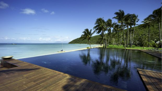 The Orpheus Island resort in Queensland.
