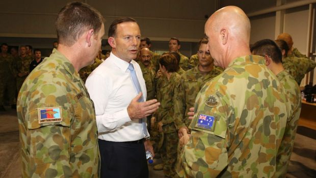 "Tony Abbott was desperate to send soldiers to assist in the ""fight against the death cult""."