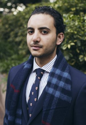 Hisham Karnib, a leader at the Australian Multicultural Foundation.