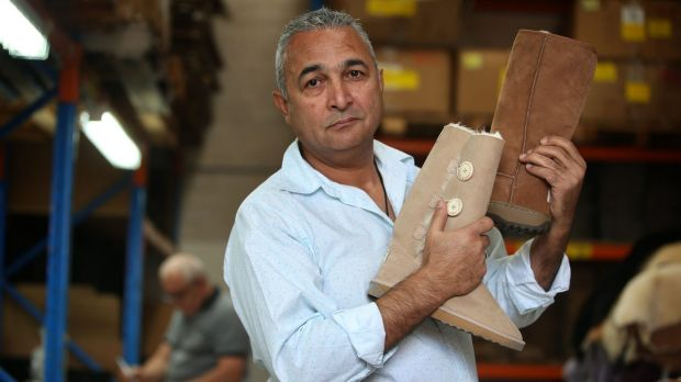 """I want to take this right to the end:"" Australian Leather owner Eddie Oygur, who is fighting for the right to use the ..."