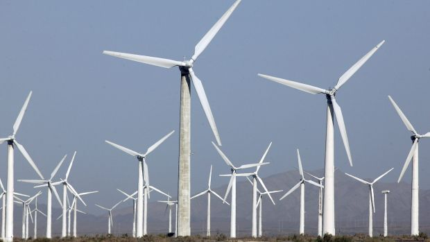 The $650 million wind farm, to be built near Dundonnell, will have 96 turbines.