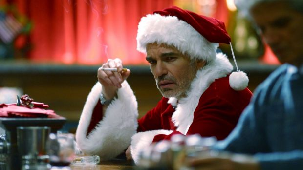 Bad Santa might not drop in with toys, but rather be wielding a baseball bat with intent to knock off the family saloon.