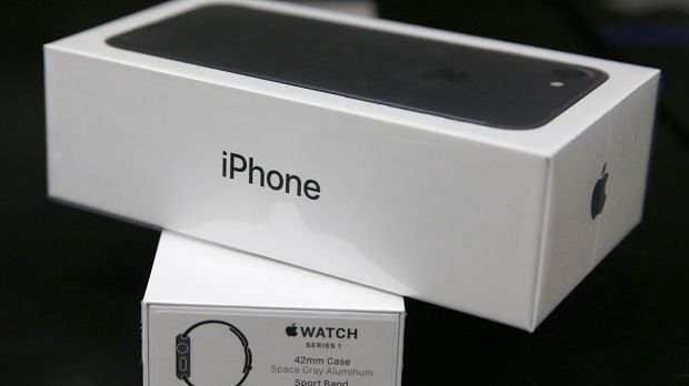 Apple sold 50.76 million iPhones in its fiscal second quarter ended April 1, down from 51.19 million a year earlier. ...