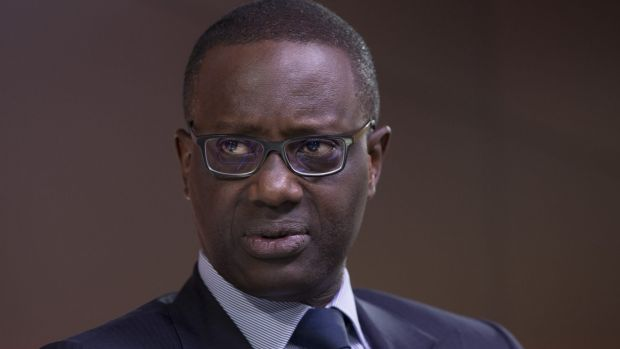 Tidjane Thiam, chief executive officer of Credit Suisse Group, has reorganised the bank.