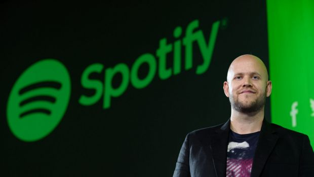 Cutting out the middlemen: Daniel Ek, chief executive officer and co-founder of Spotify.
