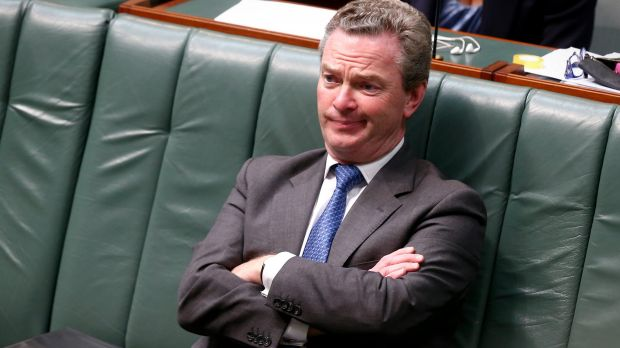Defence Industry Minister Christopher Pyne.
