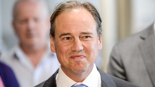 Federal Health Minister Greg Hunt relaxed import laws in February.