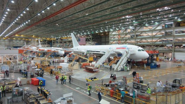 Boeing shed about 8 per cent of its workforce in Washington last year.
