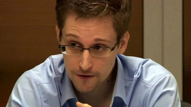 One theory, advanced by security experts and even by Edward Snowden, pictured, is that the Shadow Brokers is a part of ...