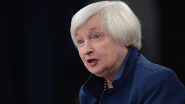 Federal Reserve chair Janet Yellen: the Fed kept rates steady overnight.