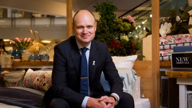 Myer chief Richard Umbers faces a battle to keep staff.