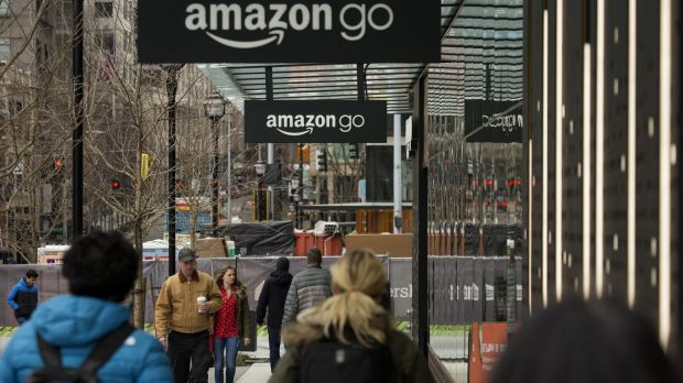 A recent UBS report predicts Amazon will cut the earnings of Coles and Woolworths by 8 per cent within five years.