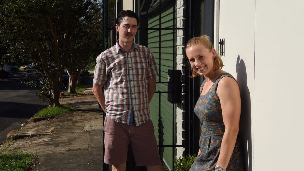 """Tim and Meg McCloud say the desire to own property in Sydney """"is not very alluring""""."""
