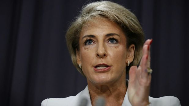 Employment Minister Michaelia Cash is pushing through changes to franchising.