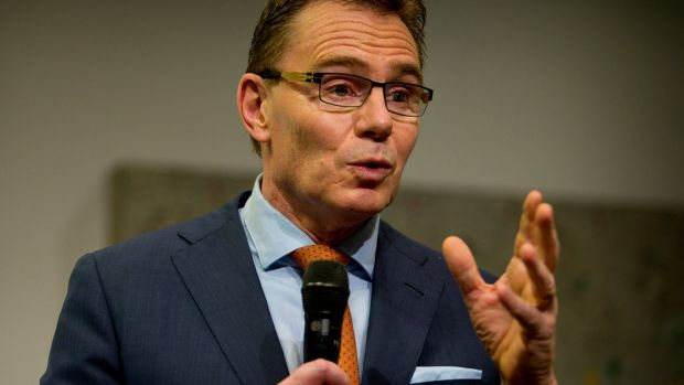 Andrew Mackenzie, chief executive officer of BHP Billiton has rejected a proposal to collapse its dual listing in London ...