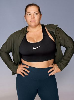 American hammer thrower Amanda Bingson in Nike's Plus Size campaign.