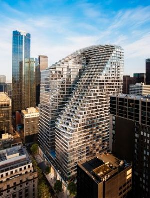 The new W Hotel in Melbourne on Collins Street will open in 2020 and is being developed in partnership with Daisho ...