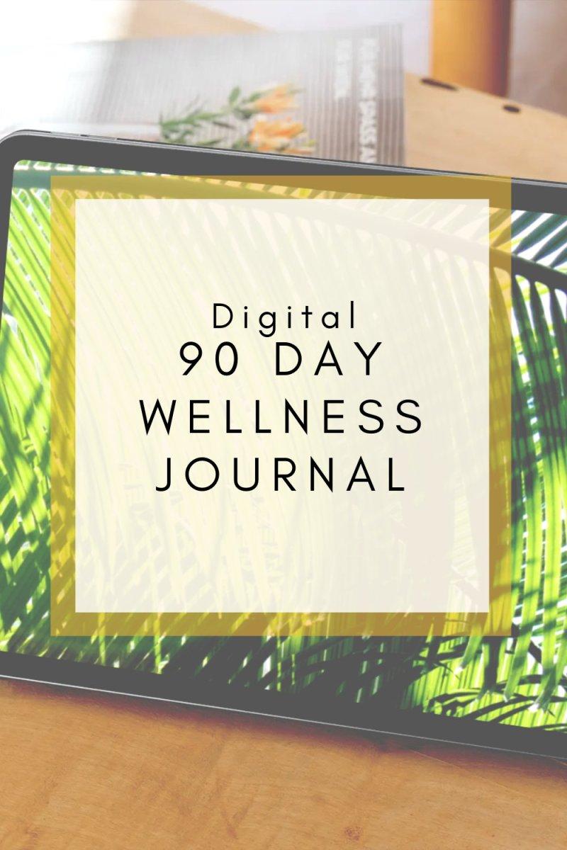 digital 90 day wellness planner
