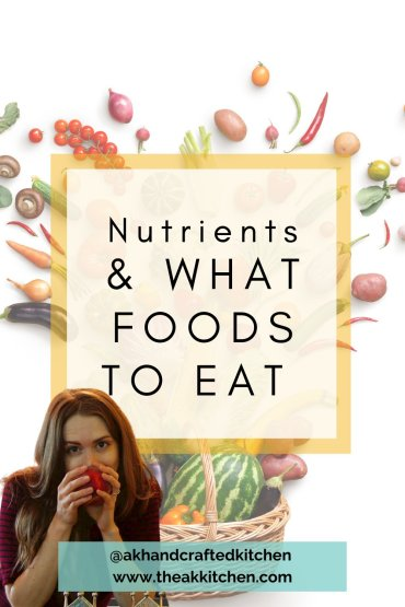 Nutrients & What Foods to Eat