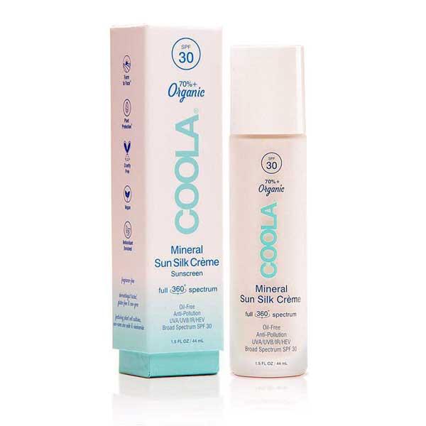 Mineral Sun Silk Crème Organic Sunscreen SPF 30