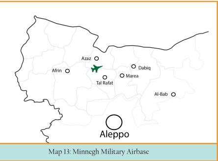 MAP 13 Menigh Military airbase