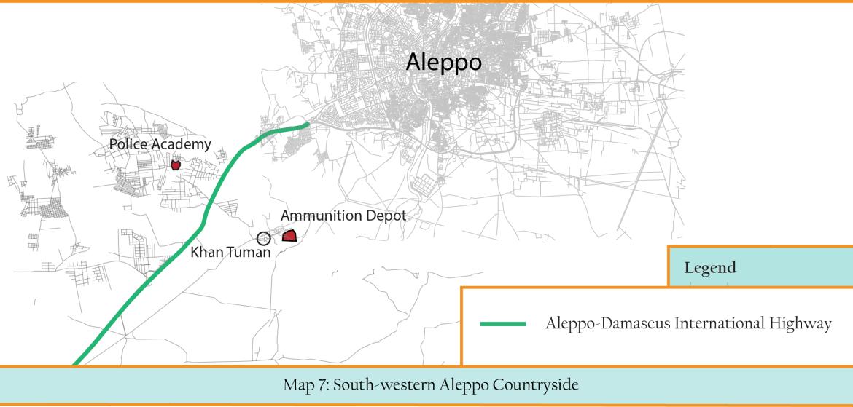Map 7 -- Highway + Police Academy + Ammunition Depot (Map B)