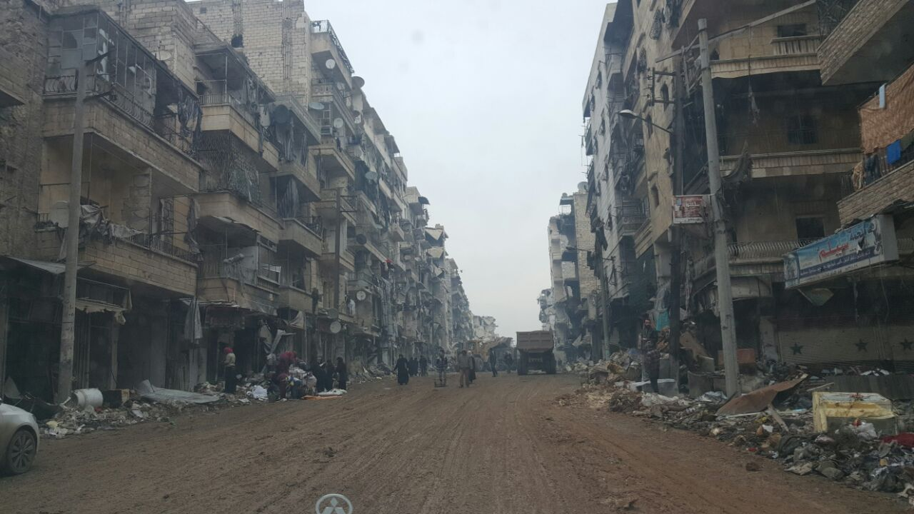 HOUSING RETURNEES IN EASTERN ALEPPO