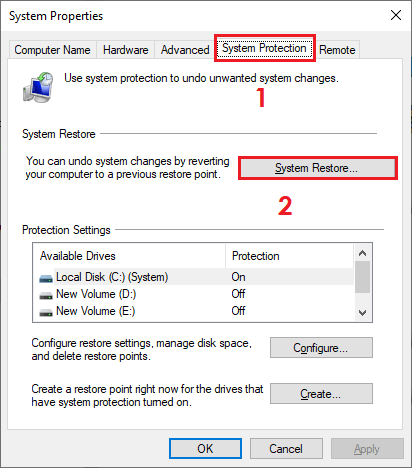 5 Solutions for There Was a Problem Resetting your PC error