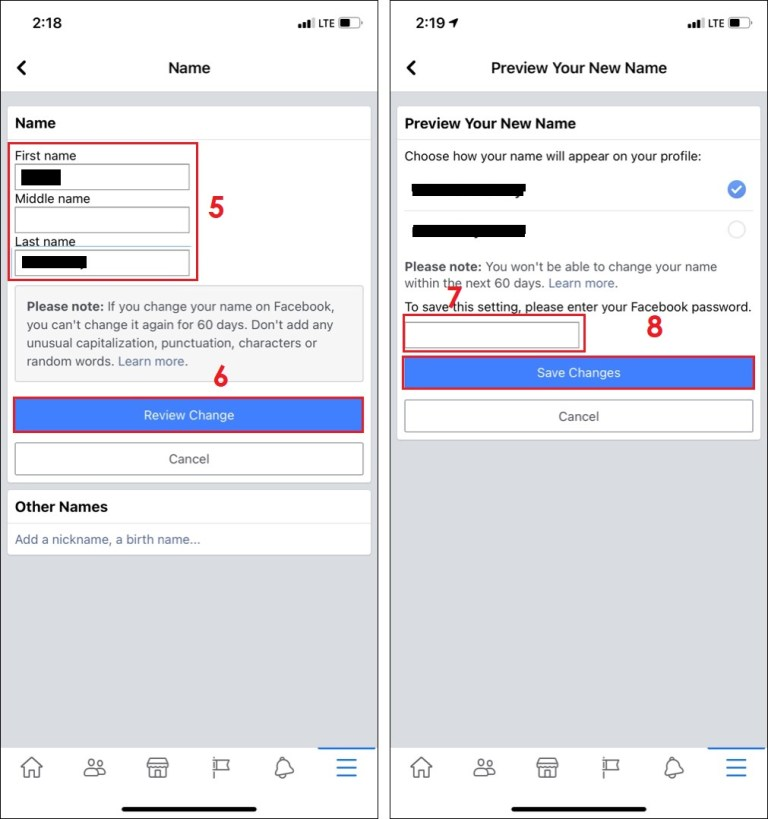 How to Change Your Name on Facebook on Android