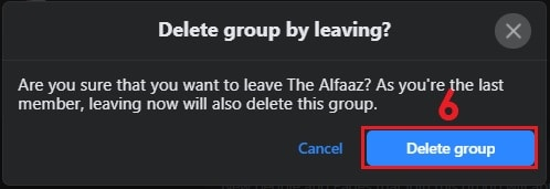 How to Delete a Facebook Group on Desktop