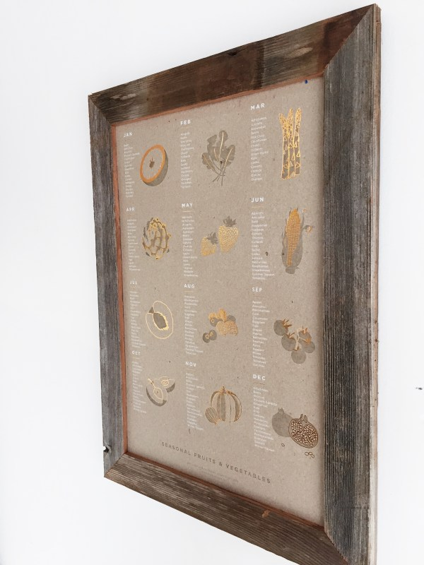 Reclaimed Wood Wide Frame 13x19
