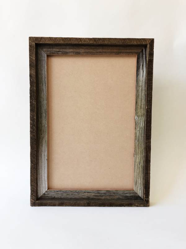 Reclaimed Wood Double Frame 12x18