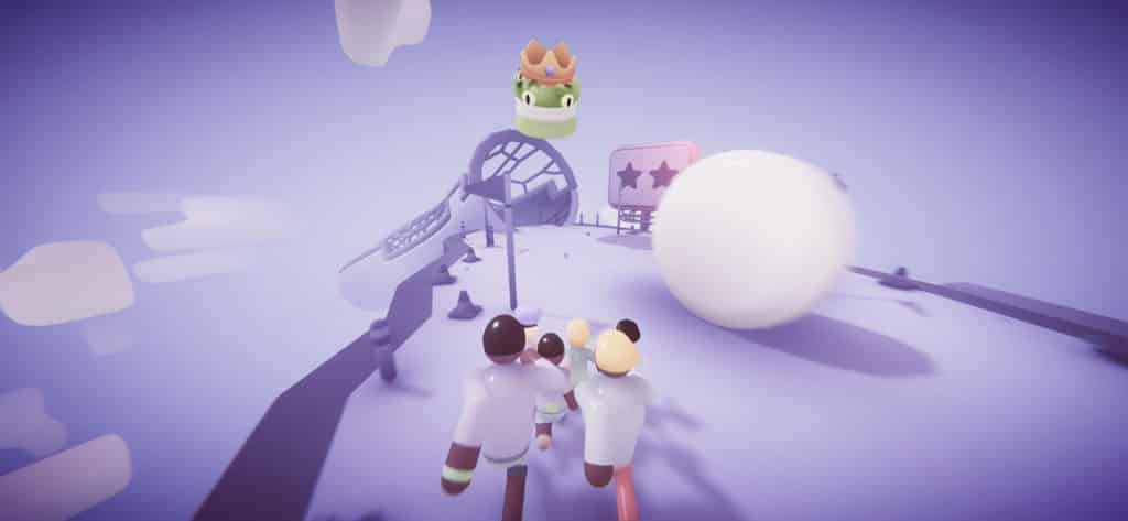 Populus Run จากค่ายเกม FIFTYTWO บน Apple Arcade