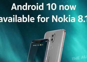 Nokia 8.1 อัพเกรด Android 10 ได้แล้ว