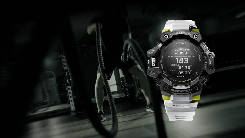 Casio G-Shock GBD-H1000 นาฬิกาจีช็อคสำหรับออกกำลังกาย มี GPS, Heart Rate Monitor แบตอึดนาน 12 เดือน