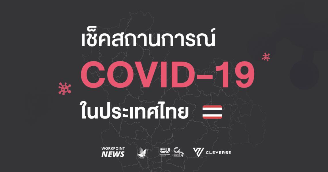 Workpoint News ร่วมสร้างเว็บไซต์ติดตามสถานการณ์ COVID-19 ในไทยแบบเรียลไทม์