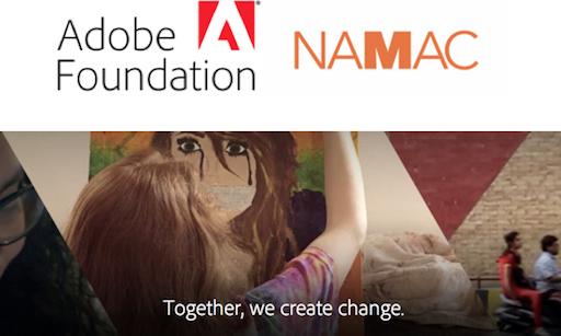 NAMAC Receives $250,000 Grant from Adobe Foundation for Global Youth Media Initiatives