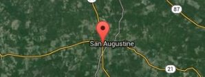 The Allman Team San Augustine in map