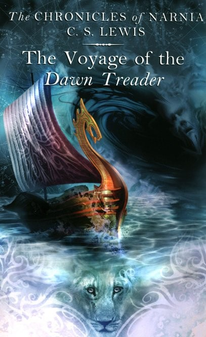Image result for narnia voyage of the dawn treader book cover