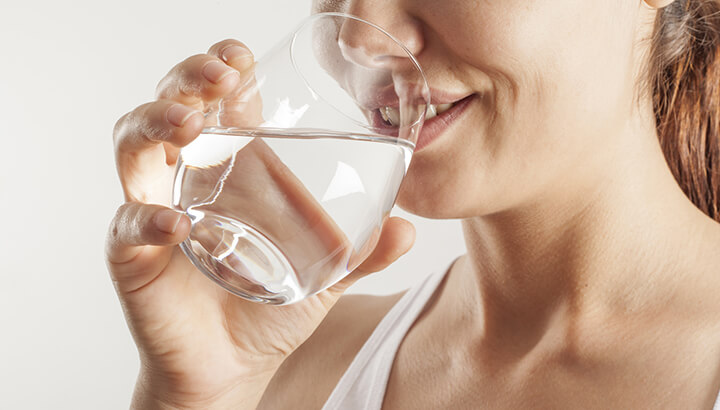Make sure to stay hydrated while doing intermittent fasting.