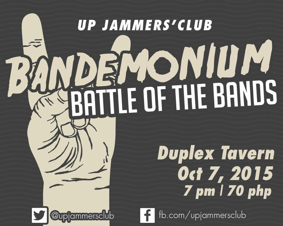 UP Jammers' Club: Bandemonium Battle of the Bands