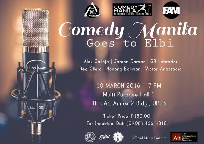 comedy mla goes to elbi