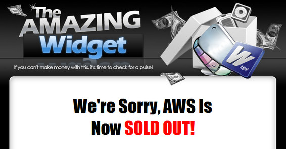 The Amazing Widget System *$15k Cash Prizes* By Bryan Winters  Image of soldout2