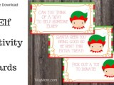 Free Kids Elf Activity Cards for Blissful Holiday Memories 25