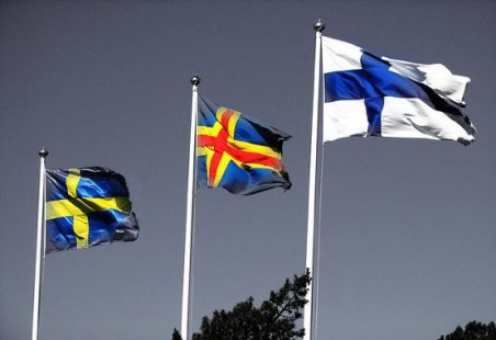 Image result for Sweden's and Finn's flag