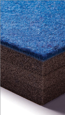 carpet bonded foam