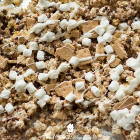 Easy S'mores Popcorn Recipe